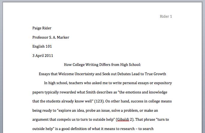 Tips on Writing a DBQ Essay
