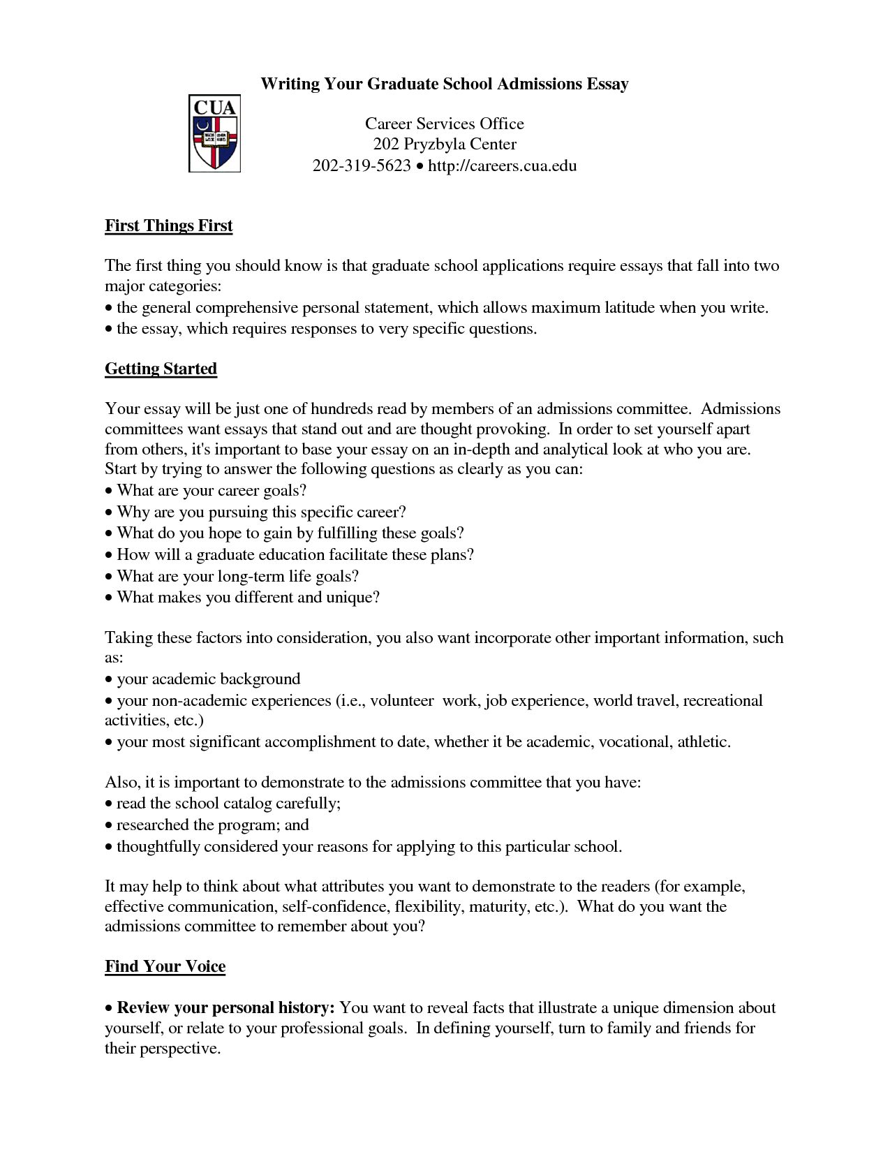 Graduate school essay format gecce tackletarts co